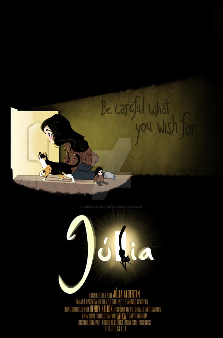 Fanart - Coraline and the secret door by Julia-Albertin ... & Fanart - Coraline and the secret door by Julia-Albertin on DeviantArt