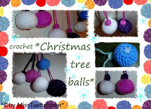 Crochet Christmas Tree balls