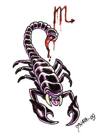 Printable Scorpion Tattoos