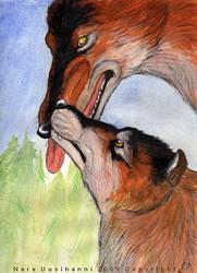 Prehistoric affection by naravox