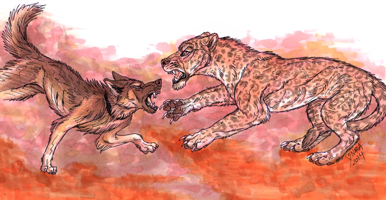 Gabi vs Jaguar by naravox