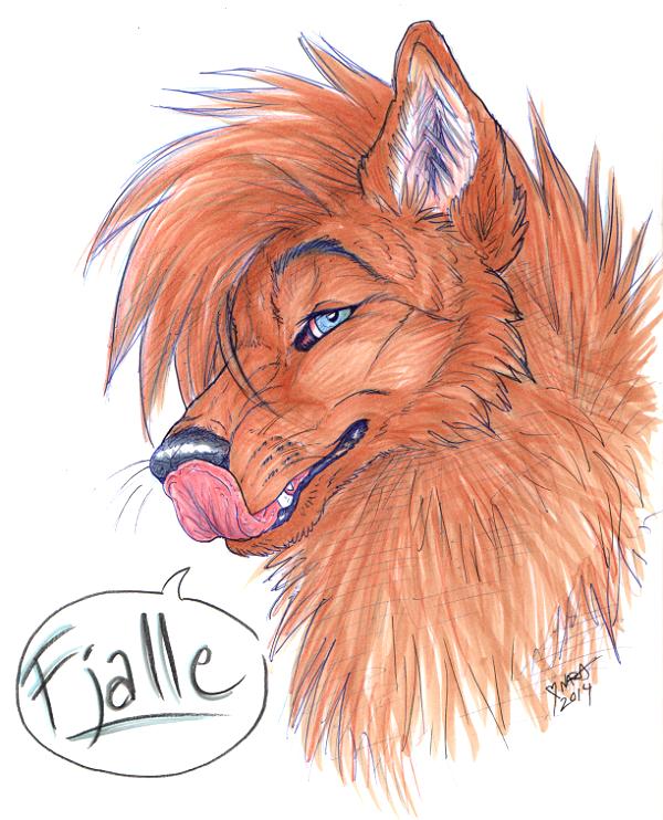Fjalle sketch by naravox