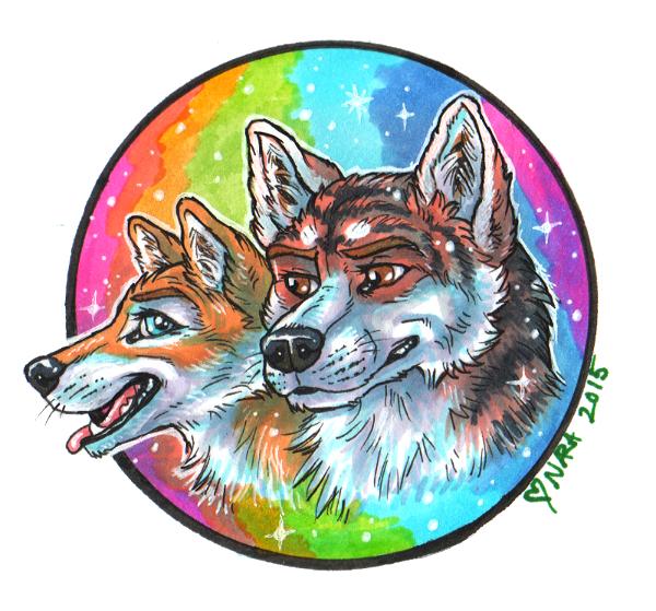 Rainbow Connection by naravox
