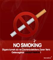 no smoking by Servetinci