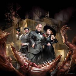 Denizens of the Underworld by sheppardarts