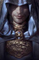 Divine Restraint by sheppardarts