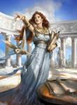 Athena by sheppardarts