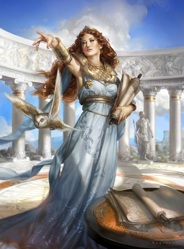 Athena by sheppardarts on DeviantArt