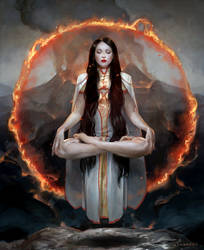 Heart of Fire by sheppardarts