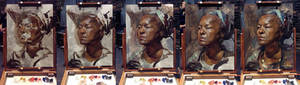 Gloria Portrait Process