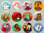 Moomin Stickers - Batch 1