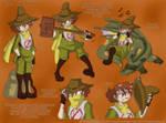 Steam Punk Moomins - Snufkin
