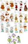 Doodles - Genderbent Dwarfs