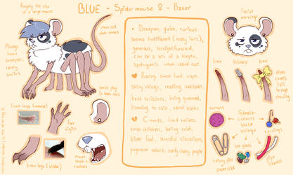 Reference Sheet - Blue