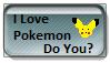 Do You Like Pokemon Stamp by RVBandANIMEfreak