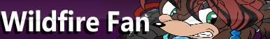 Wildfire Fan Button by oreana