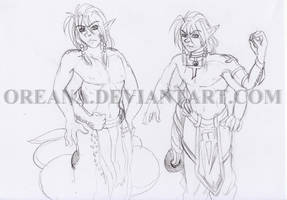 [Rough Concept] Oreana's Husband by oreana
