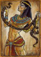 Cleopatra by BohemianWeasel