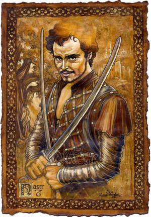 Nasir the Saracen by BohemianWeasel