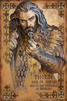 Hobbit Illumination: Thorin, vengeance of Dwarves