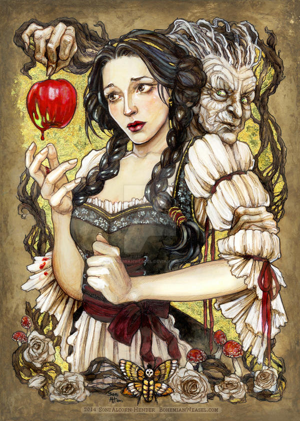 Snow White, the Gift by BohemianWeasel