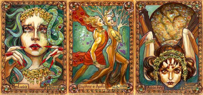 Metamorphoses: Medusa, Daphne, Arachne