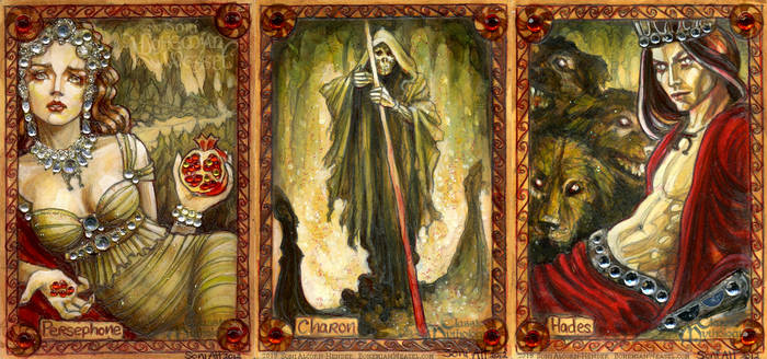 The Underworld: Persephone, Charon, Hades