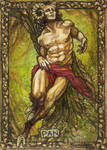 Pan: god of shepherds, pastures, and ffffertility
