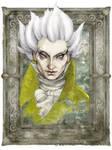 Gentleman with Thistle-down Hair, Venetian Mirror