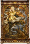 Annatar (Sauron) and Celebrimbor
