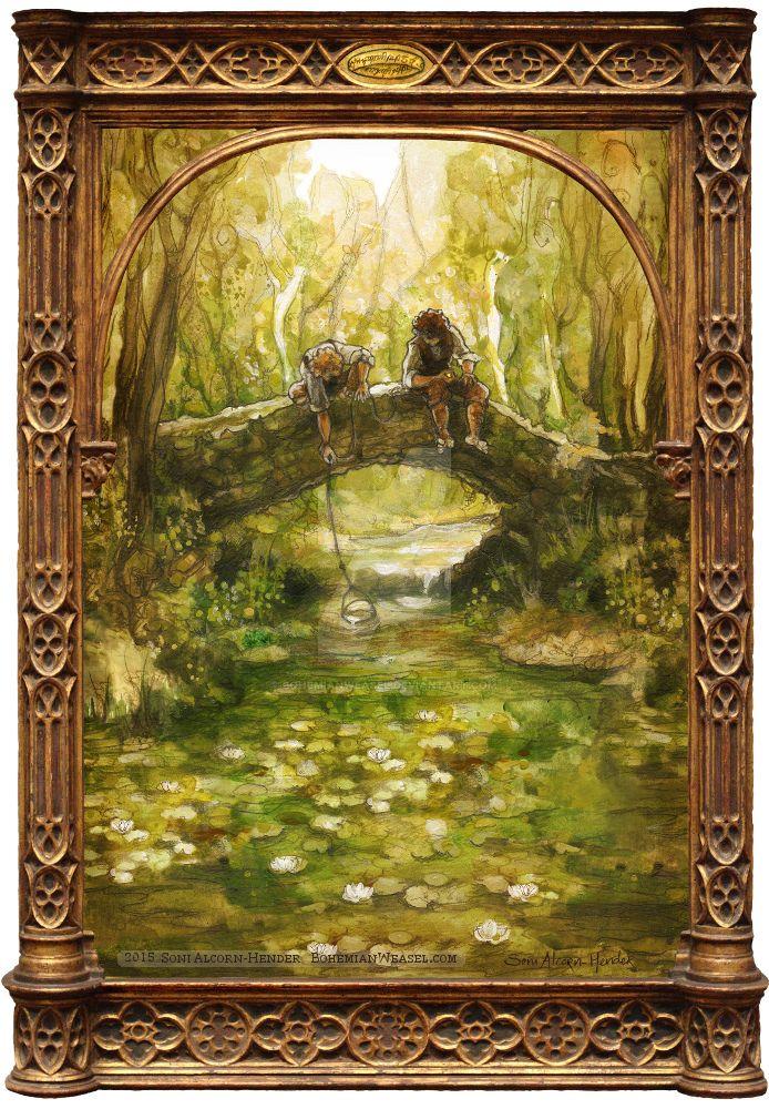 Shire Bridge by BohemianWeasel