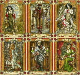 Penny Dreadful Cards preview