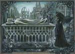 At Aragorn's tomb