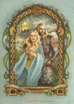Meduseld, farewell to Theoden