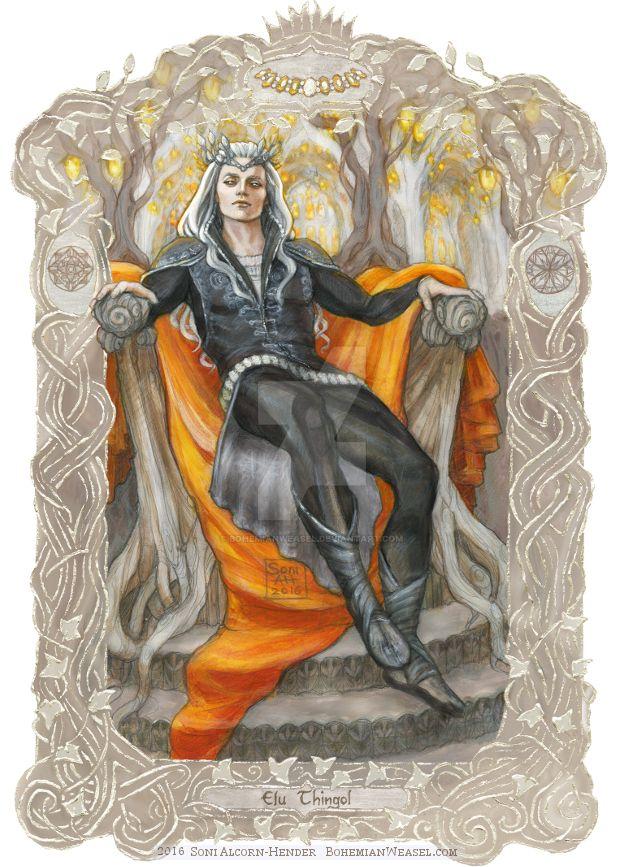 Elu Thingol by BohemianWeasel