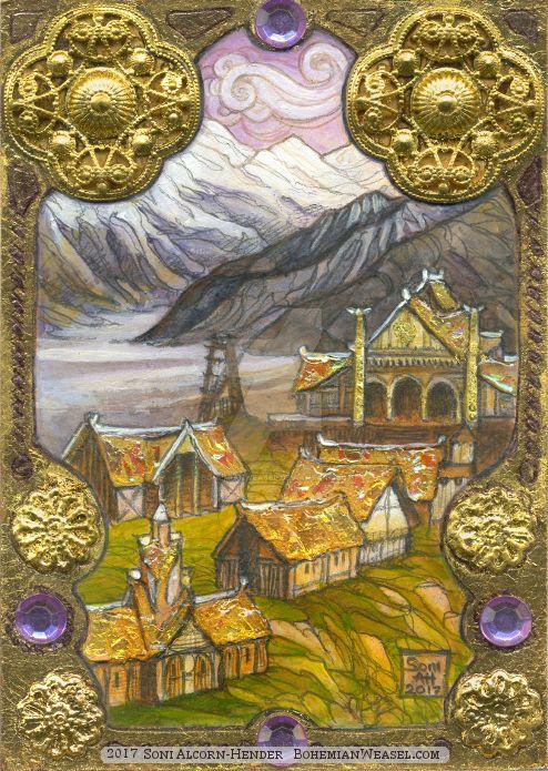 Filigree Edoras by BohemianWeasel