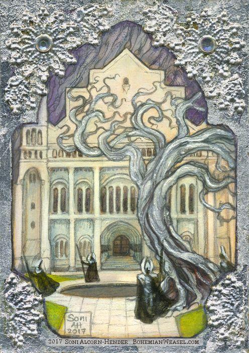 Filigree Minas Tirith by BohemianWeasel