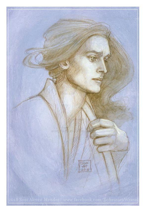 Legolas sketch by BohemianWeasel