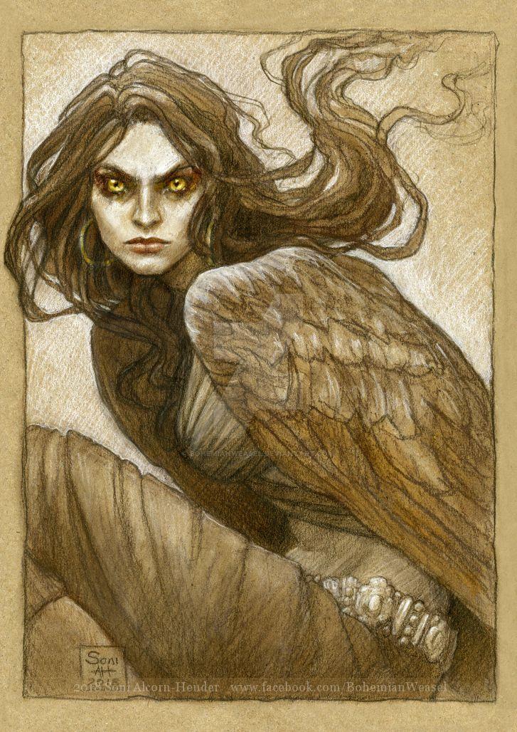 The harpy, Marta by BohemianWeasel