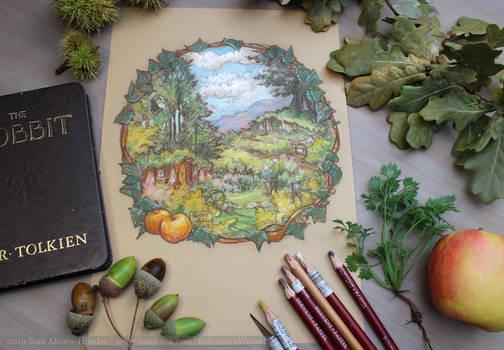 Bag End for Hobbit day