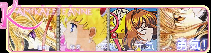 Kamikaze Jeanne Signature by B1NH