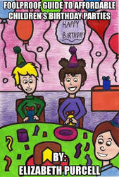 Birthday Party Book Cover by graciegralike