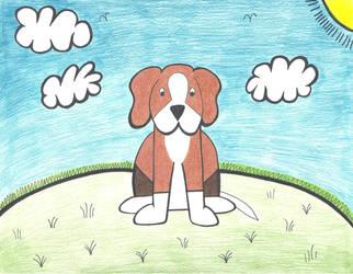 Beagle Puppy by graciegralike