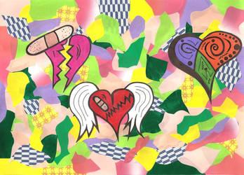 Hearts of Love by graciegralike