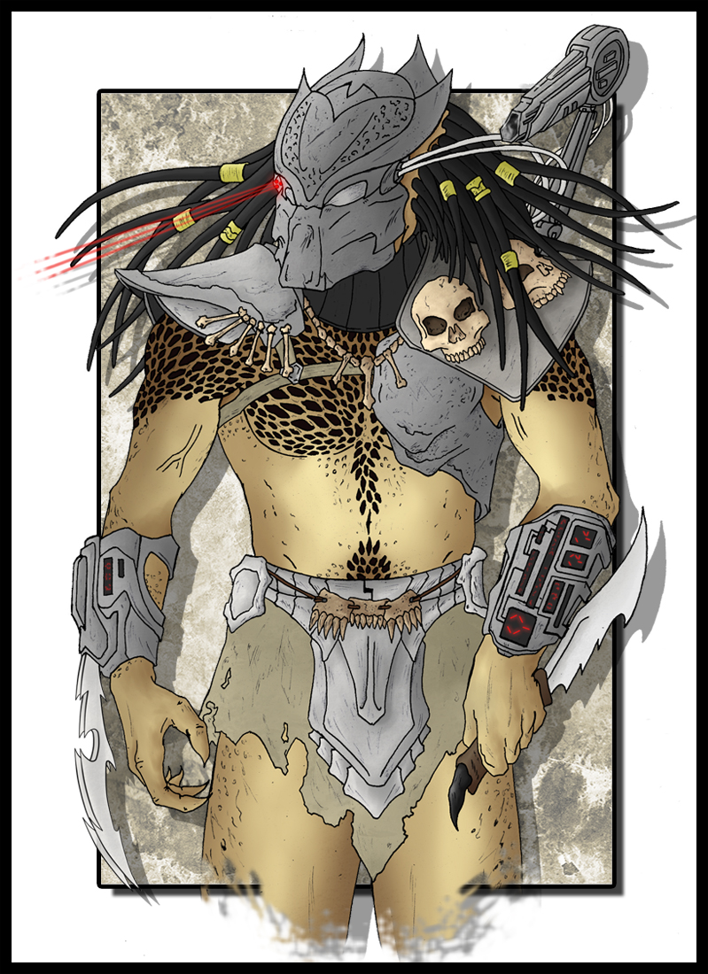 Predator Bronk Color ART by rraphall04