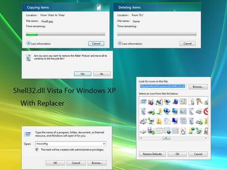 shell32.dll vista for xp by Syaichlan