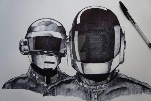 Daft Punk in Ballpoint
