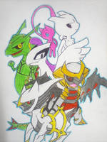 LEGENDARIES by Mewtwosama10299