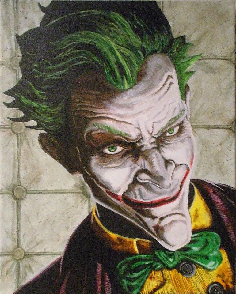 Joker - Arkham Asylum by byidlehands on DeviantArt