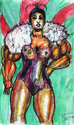burlesque artist 20's